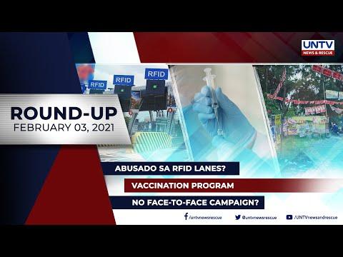 UNTV NEWS ROUNDUP: Mga balitang dapat mong malaman (February 3, 2021)