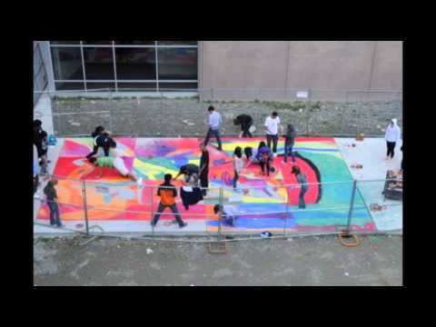 Time Lapse Chalk Drawing Lakes High School Art Class Youtube