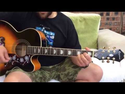 Phil Collins-In The Air Tonight-Acoustic Guitar lesson.