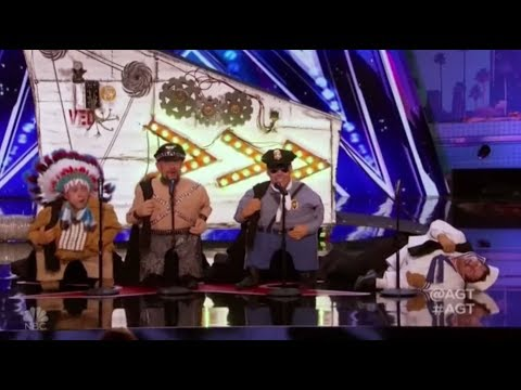 The Quiddlers: Unique and FUNNY Vegas Act | America's Got Talent 2017