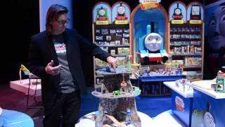 Toy Fair 2014 ~ Thomas & Friends Wooden Railway Up And Around Sodor Adventure Tower