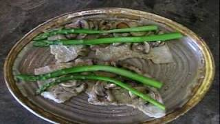 Veal Sentino - Scallopini With Asparagus & Cheese