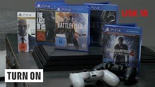 Spiele im Vergleich (USK 18) // PS4 vs PS4 Pro - TURN ON Tech