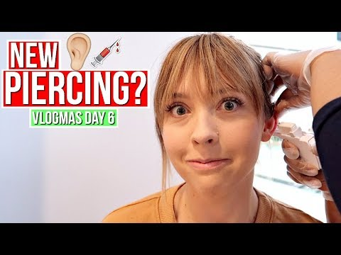 Download Youtube: Getting My Ear Pierced?! | Vlogmas Day 6