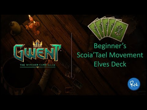 Gwent: The Witcher Card Game – Beginner's Scoia'Tael Movement Elves Deck!