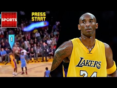 KOBE Bryant Gets The NBA Jam Treatment