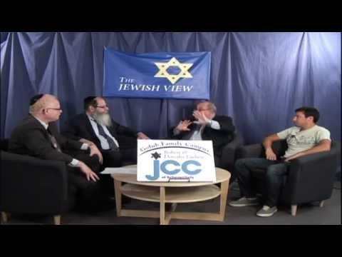 The Jewish View-Schenectady JCC Executive Director Mark Weintraub and Michael Abadi