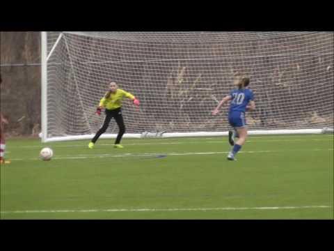 Missouri Rush Soccer Premier 04 Girls winning save by Katt
