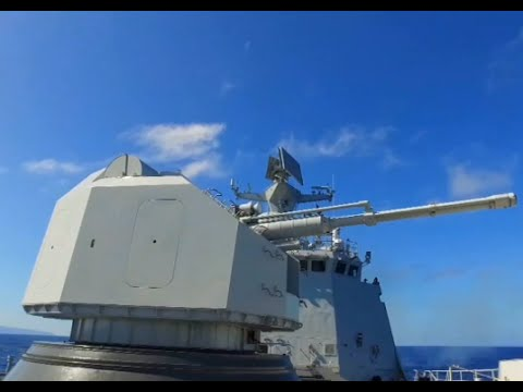 Chinese Navy Conducts Gunfire Drill as Part of RIMPAC 2016 Exercise