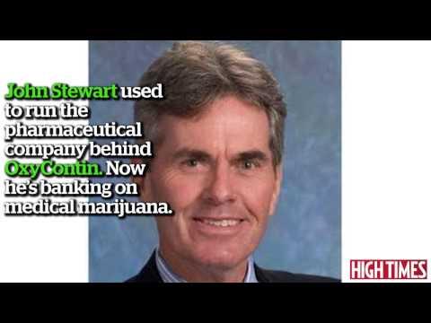 Big Pharma Exec Cashes In On Medical Marijuana