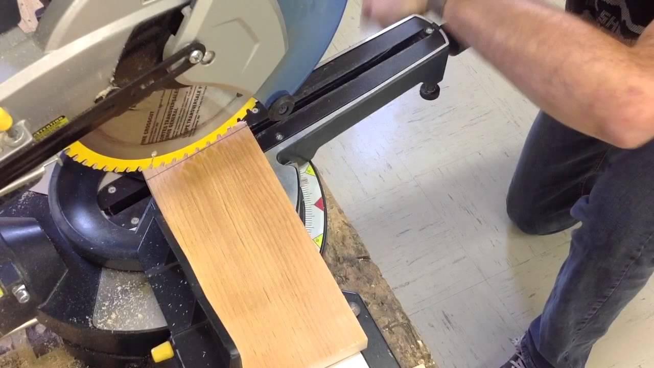 Tracer et couper des angles partie 2 youtube for Comment couper plinthes angle