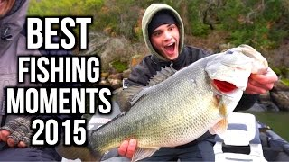 BEST FISHING MOMENTS OF 2015!!! - Andrew Flair