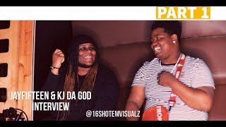 JayFifteen & Kj Da God on Surviving in Chiraq, Confront YNW Melly & more for dissing lil JoJo Part 1