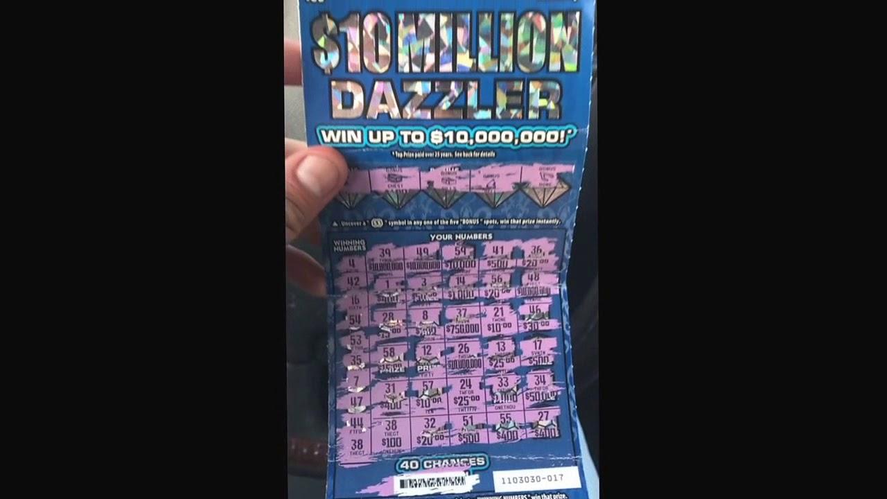 10 million dazzler big winner!!