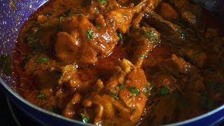 Restaurant Style chicken Curry / Spicy And Tasty Chicken curry recipe For Chicken Lovers