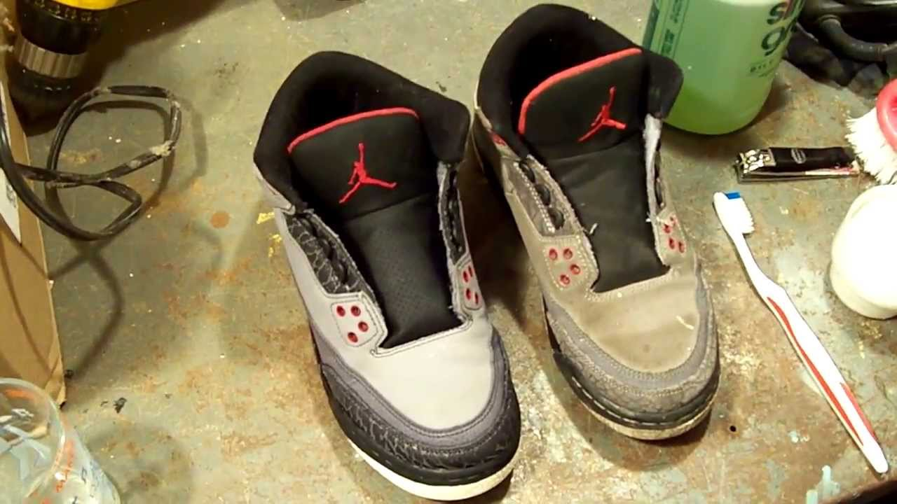 Cleaning Tip: Cleaning/Restoring Air Jordans, Sneakers Back to Life for a  Profit! - YouTube