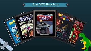 Atari 2600 Homebrew games!