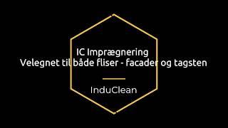 Fliseimprægnering IC 20 L brugsklar video