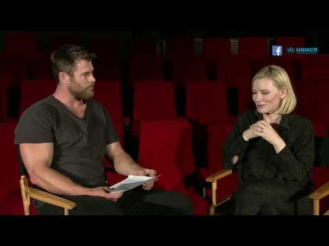 UNHCR Live with Cate Blanchett and Chris Hemsworth