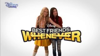 Best Friends Whenever | Theme Song | Official Disney Channel UK