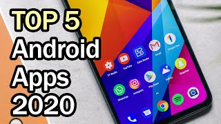 Best Android Apps 2020 (Top 5)
