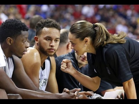 Becky Hammon Leads San Antonio Spurs To NBA Summer League Championship
