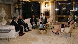 Corrupt Crony Oligarchy: Ivanka Trump at Meeting with Japanese Prime Minister