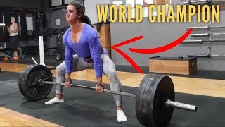 Learn To Deadlift From A 11x World Champion (Ft. Stefi Cohen)