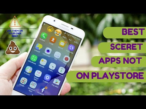 Useful Apps that are not on playstore for intense mobile user. 2017
