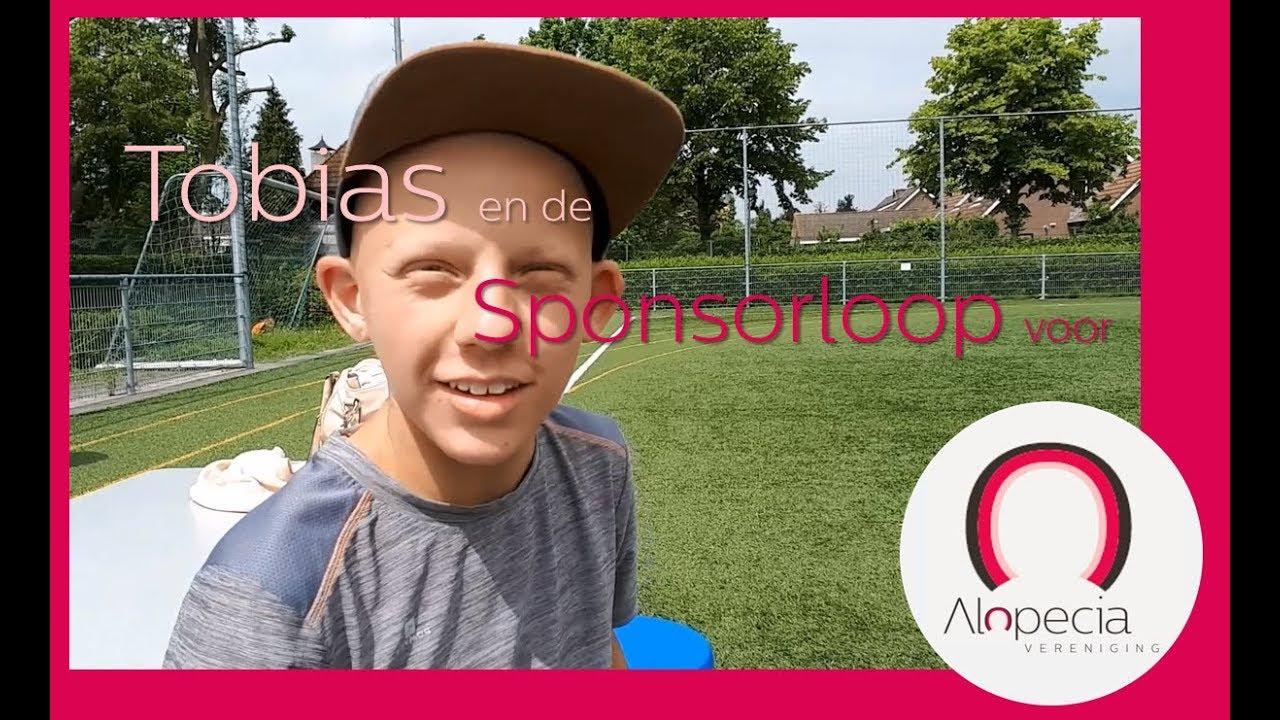 Sponsorloop Tobias Alopecia Vereniging 2018 2