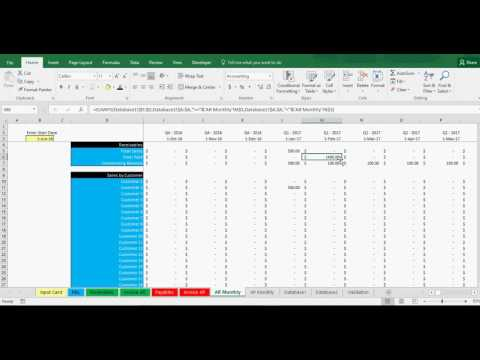 Accounts Receivable And Payable Tracking Template In Excel