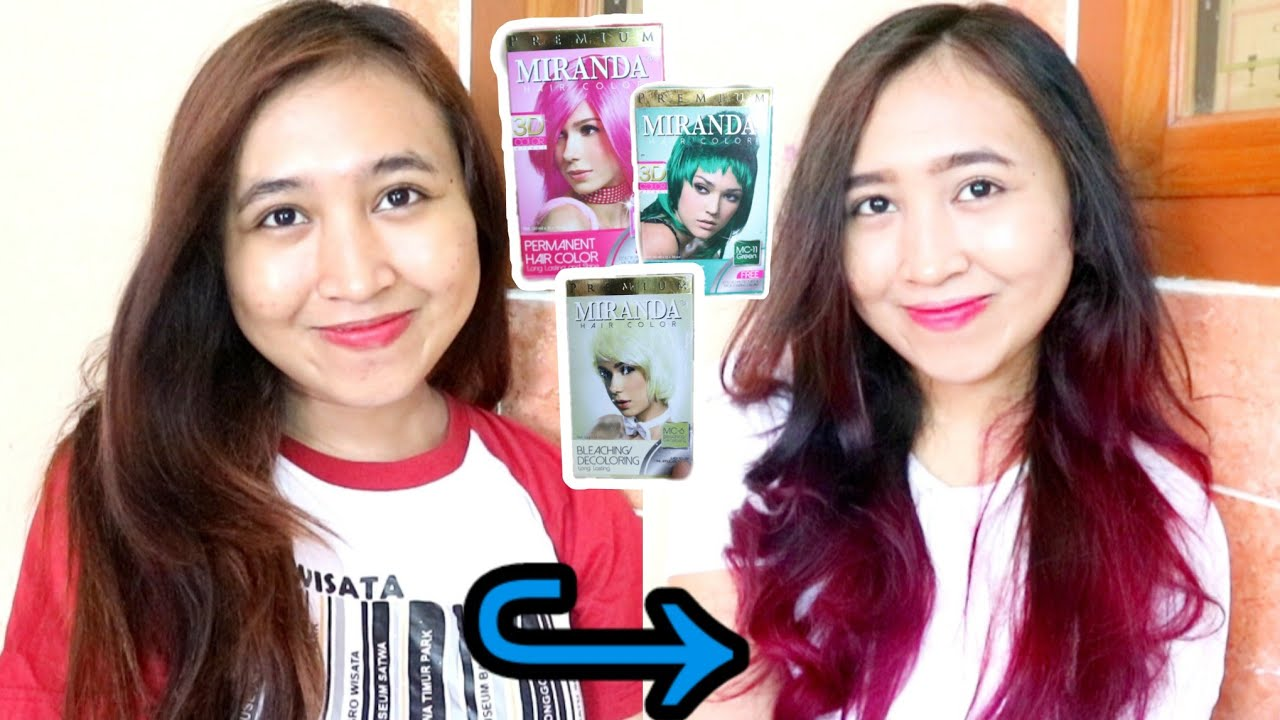 Cara Mewarnai Rambut Sendiri Pakai Miranda 10k Pink Colorful Mermaid Hairs