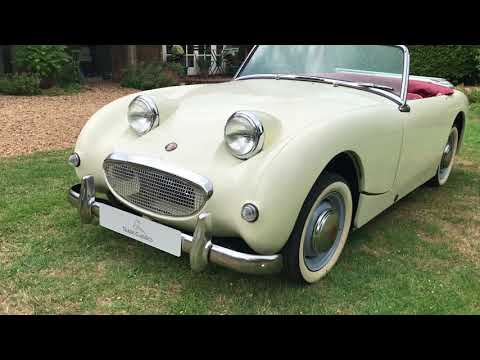 1960 Austin Healey Frogeye Sprite - Exterior Review