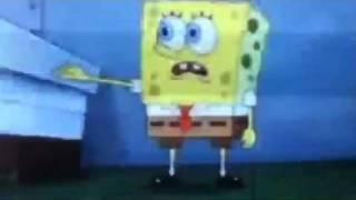 Spongebob sings poker face