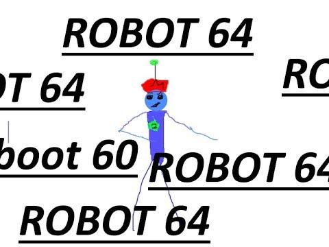 dancing in robot 64