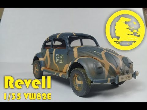 Revell 1/35 Volkswagen 82E (#03247) full video build review