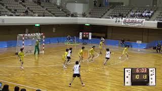 9日 ハンドボール女子 あづま総合体育館 Aコート 佼成学園×不来方 準決勝 2