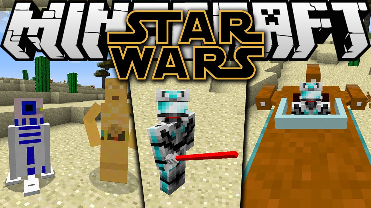 how to install star wars mod minecraft mac