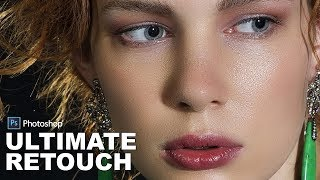 Ultimate Skin Retouch Technique in Photoshop - High End Model Look Face Retouching