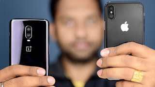 OnePlus 6T vs Apple iPhone X. Detailed Comparison, SpeedTest, Camera, Specifications,