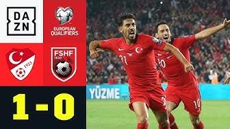 Tosun schießt die Türkei zum Sieg: Türkei - Albanien 1:0 | EM-Quali | DAZN Highlights
