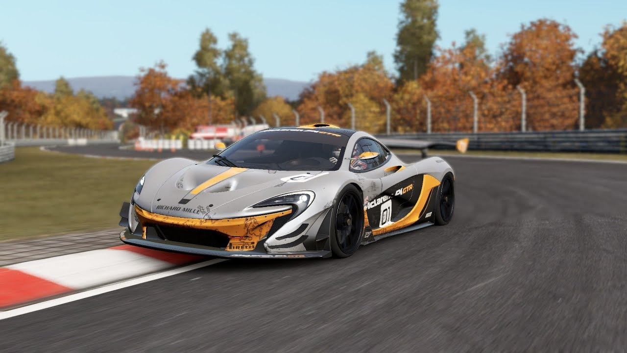 Project cars 2 mclaren p1 gtr en n rburgring youtube - Project cars mclaren p1 ...