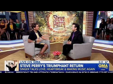 Steve Perry (Iconic Journey Frontman) Chats 20 Yr Hiatus & New Music (GMA)