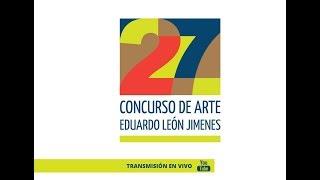 Acto de Premiación de 27 Concurso de Arte Eduardo León Jimenes