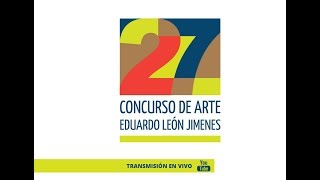 Award ceremony of 27 Eduardo León Jimenes Art Contest