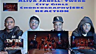 Aliya Janell- Twerk City Girls Choreography|SBC REACTION