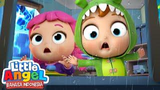 Download Hujan dan Badai Pergilah!☔Kartun Anak   Little Angel Bahasa Indonesia
