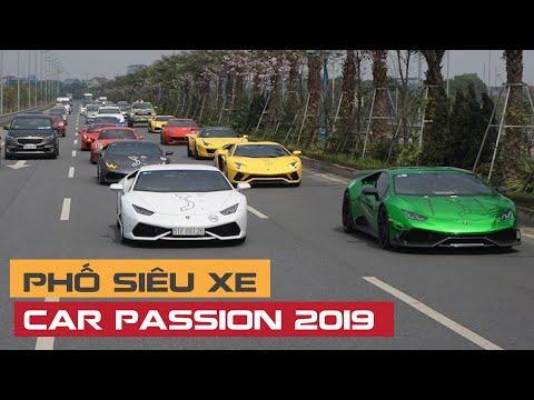 Hà Nội có phố SIÊU XE như London? McLaren, Aston Martin, Lamborghini trước Car Passion