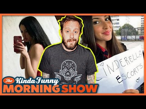 Can Geoff Sell His Virginity? (w/Geoff Ramsey) - The Kinda Funny Morning Show 04.30.18