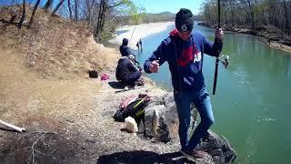 Рыбалка река Рудная,ловля пеструшки